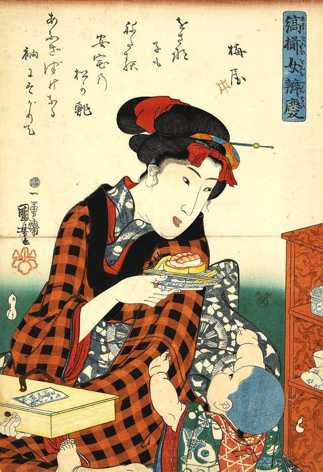 The Man Who Invented Sushi