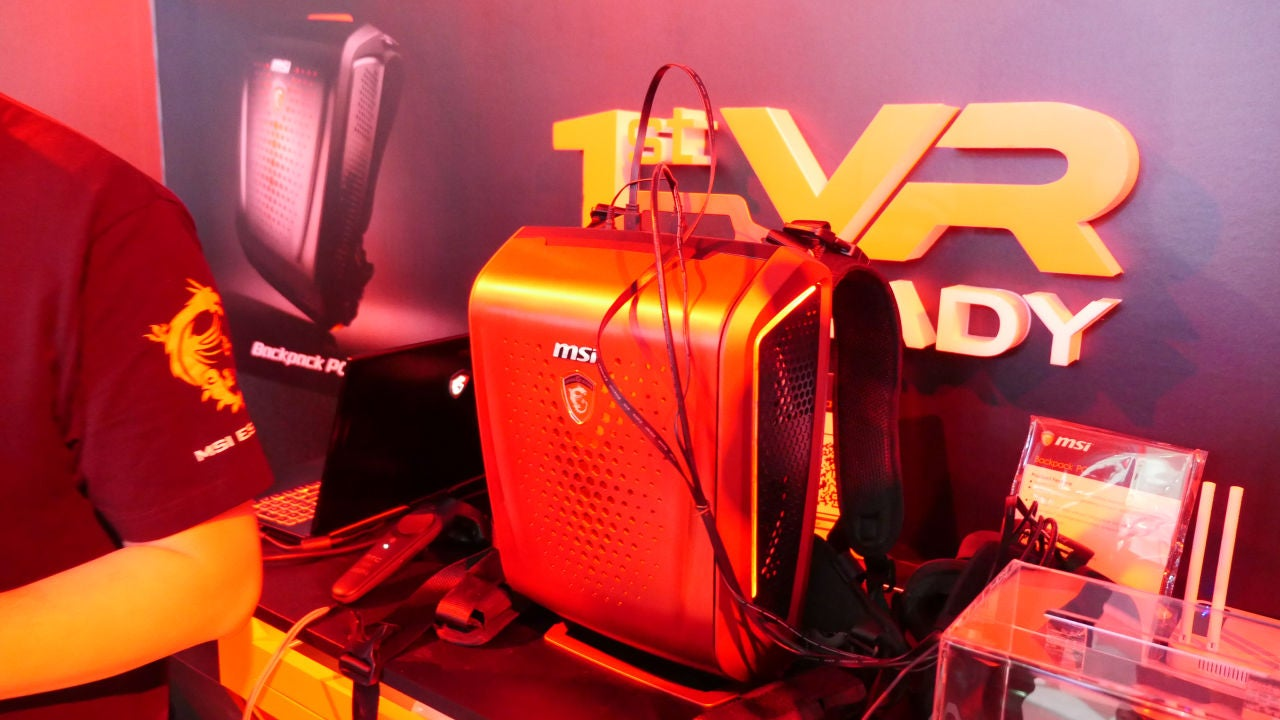 A Gaming PC You Can Wear on Your Back