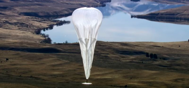 One of Google's Loon Balloons Crashed in Chile
