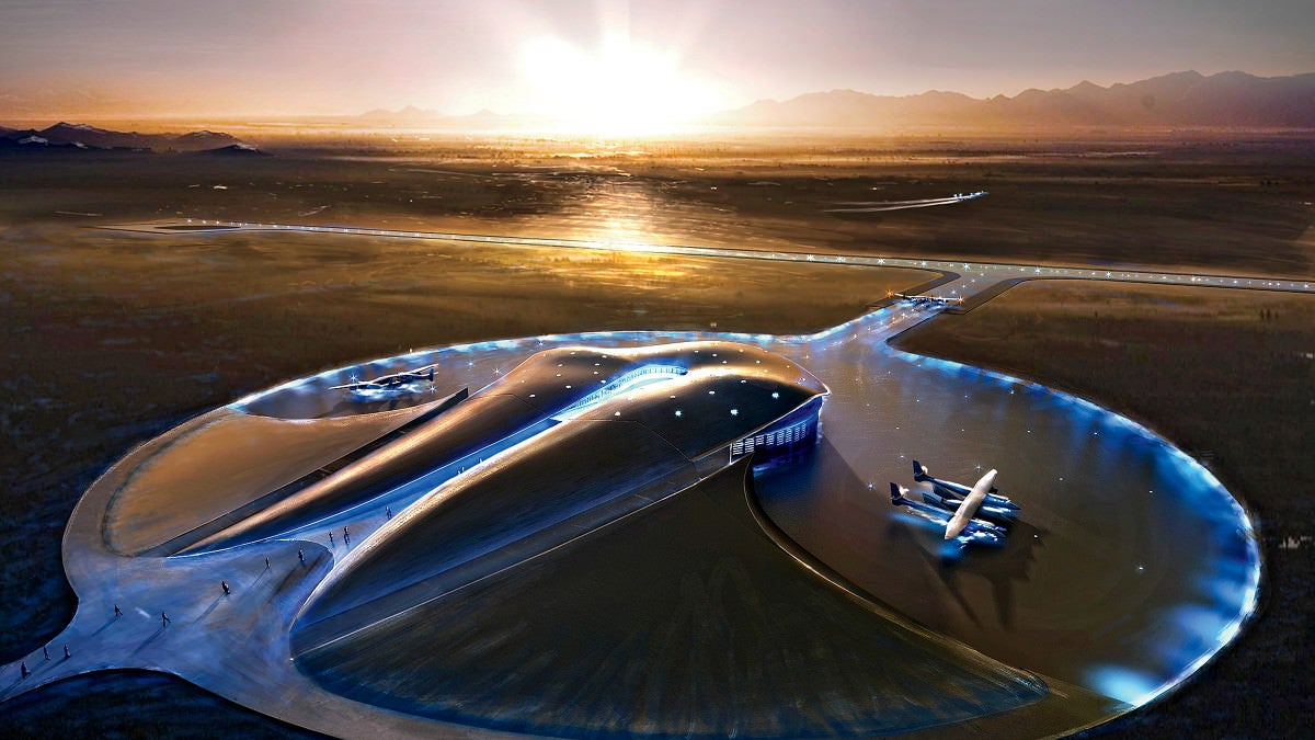 Beijing's new airport terminal looks more like a gigantic spaceport