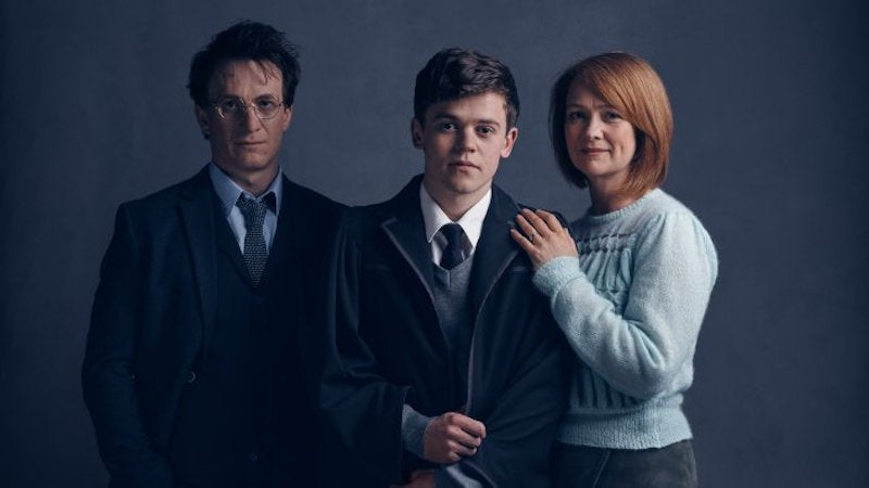 Grown-Up Harry Potter Is Tired of All This Wizarding Crap in the First Cursed Child Play Pics