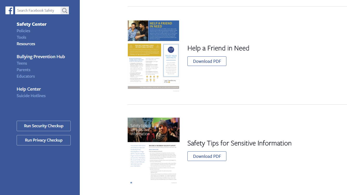 Facebook's Safety Centre Helps Users Report And Prevent Online Bullying