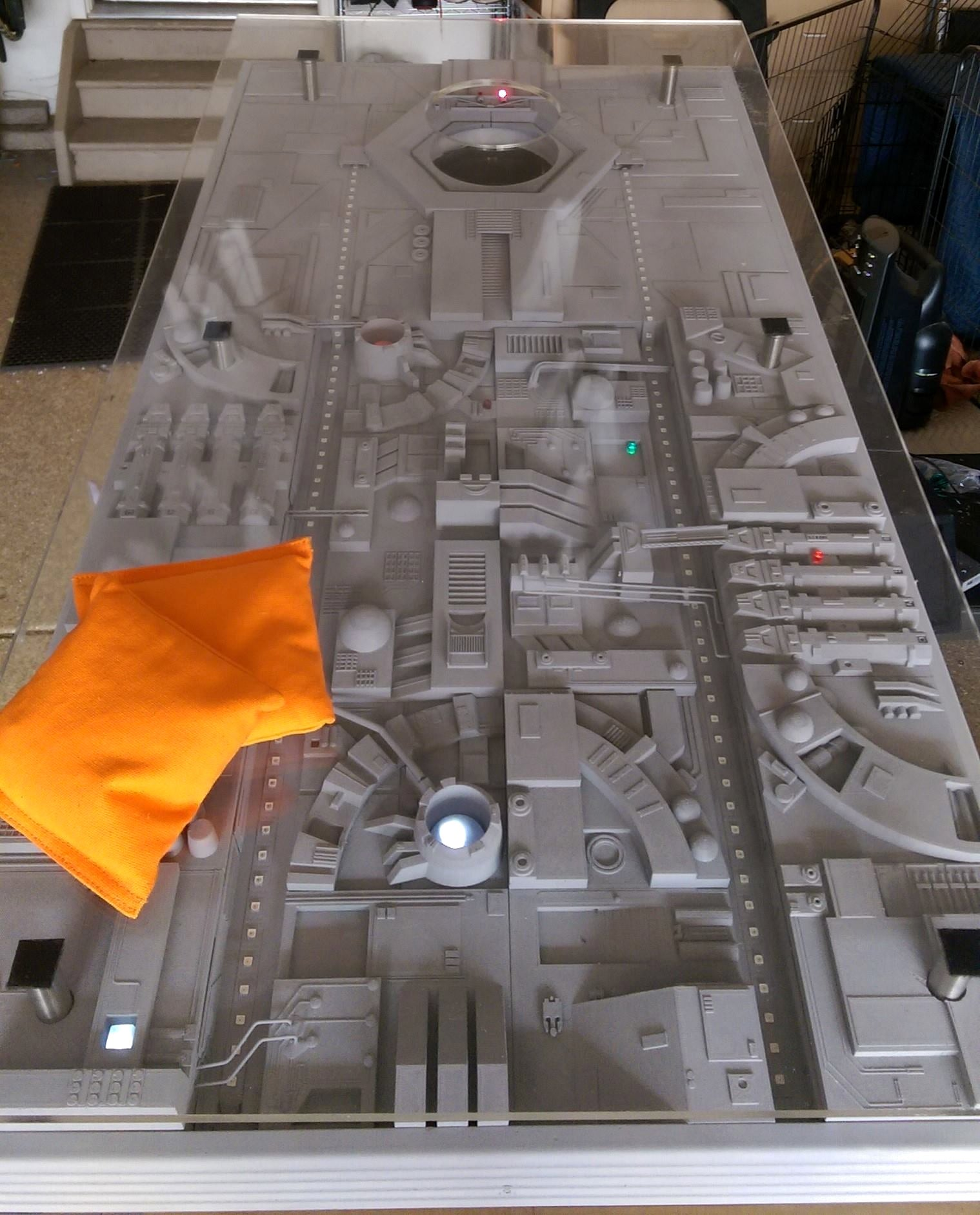 Every Skywalker Family Reunion Needs This Amazing Death Star Cornhole Game