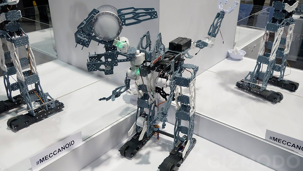 Spin Master's Meccanoid G15 KS Will Let You Build Your Own Johnny Five