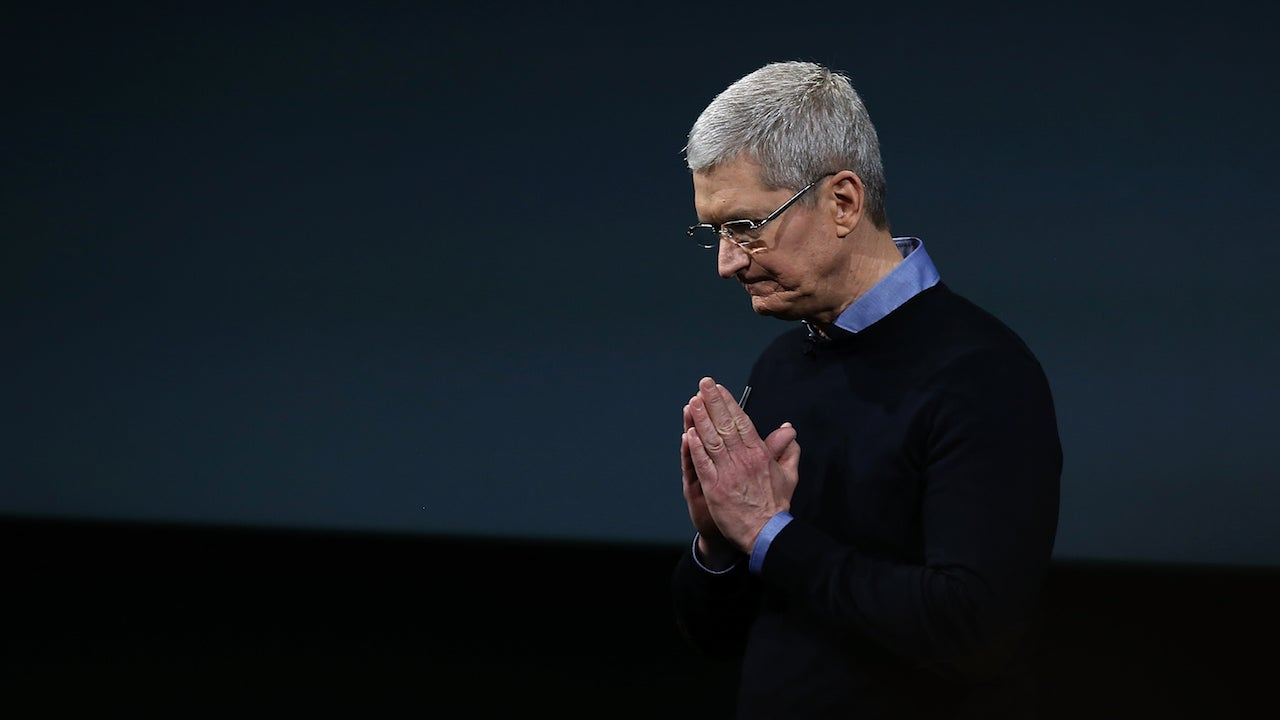 Tim Cook: The Apple Watch Is Fine