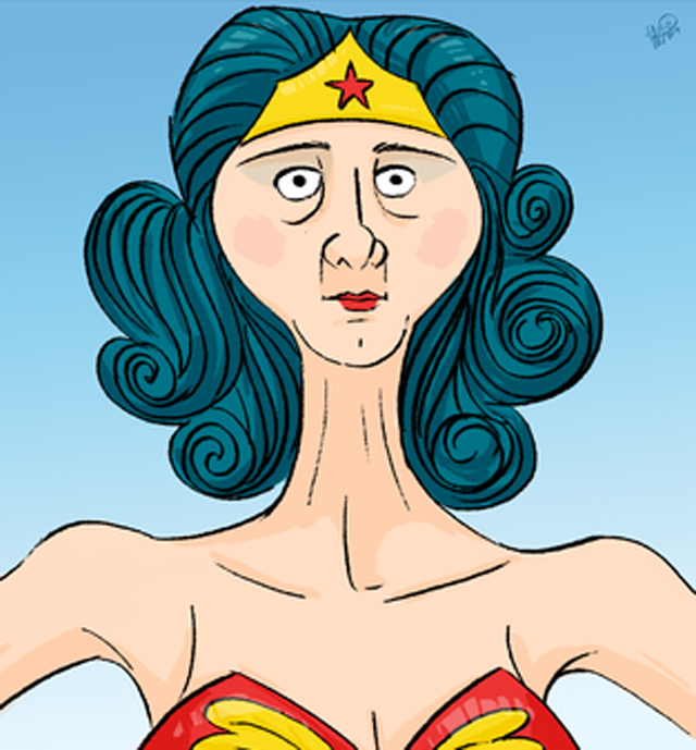 Even Superheroes Get Old