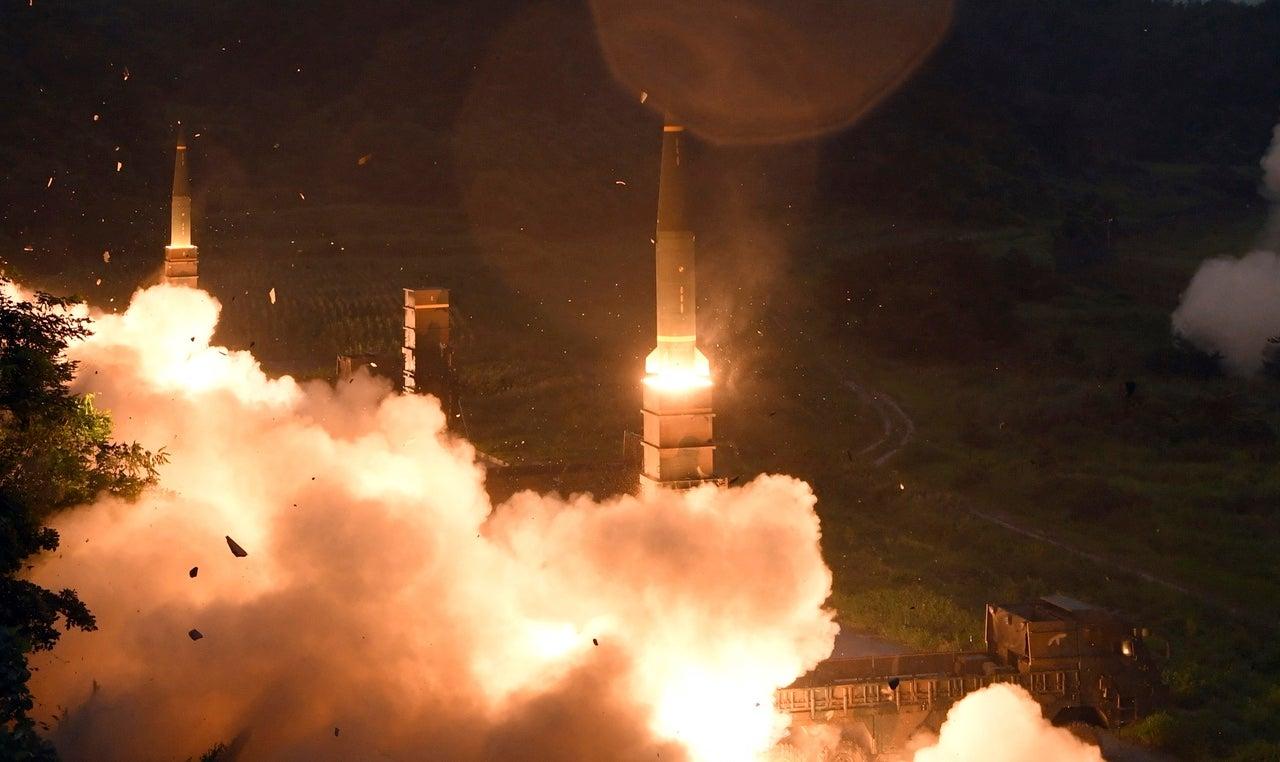 North Korea Releases Video Of Latest ICBM Test