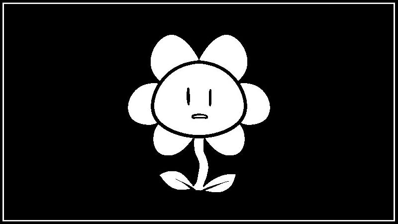 The Life of Undertale's Flowey, in GIF Form