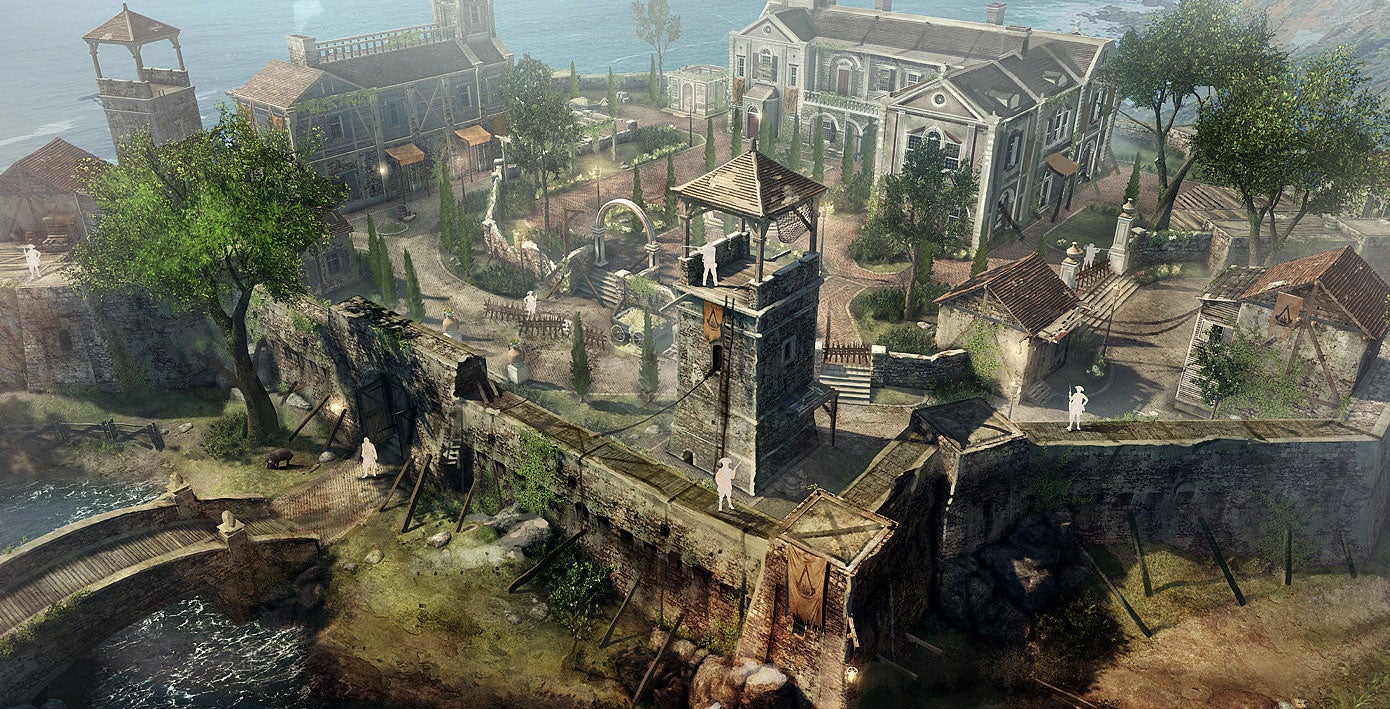 Building The Buildings Of Assassin's Creed