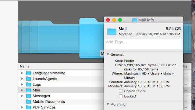 Save Space in the OS X Mail App by Disabling Attachment Downloads