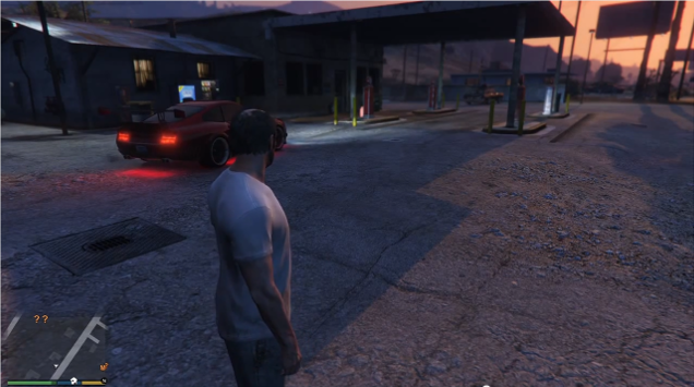 GTA V's Franklin Is A Lonely Man
