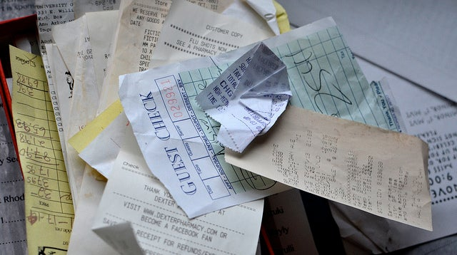 Protect Your Finances, Keep Receipts Out of Your Wallet