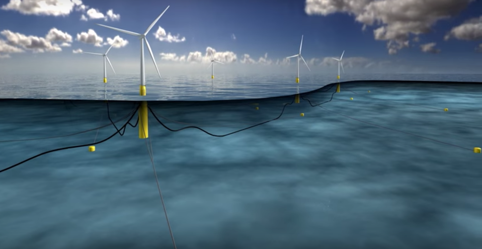 Scotland Will Soon Get The World's Biggest Floating Offshore Windfarm