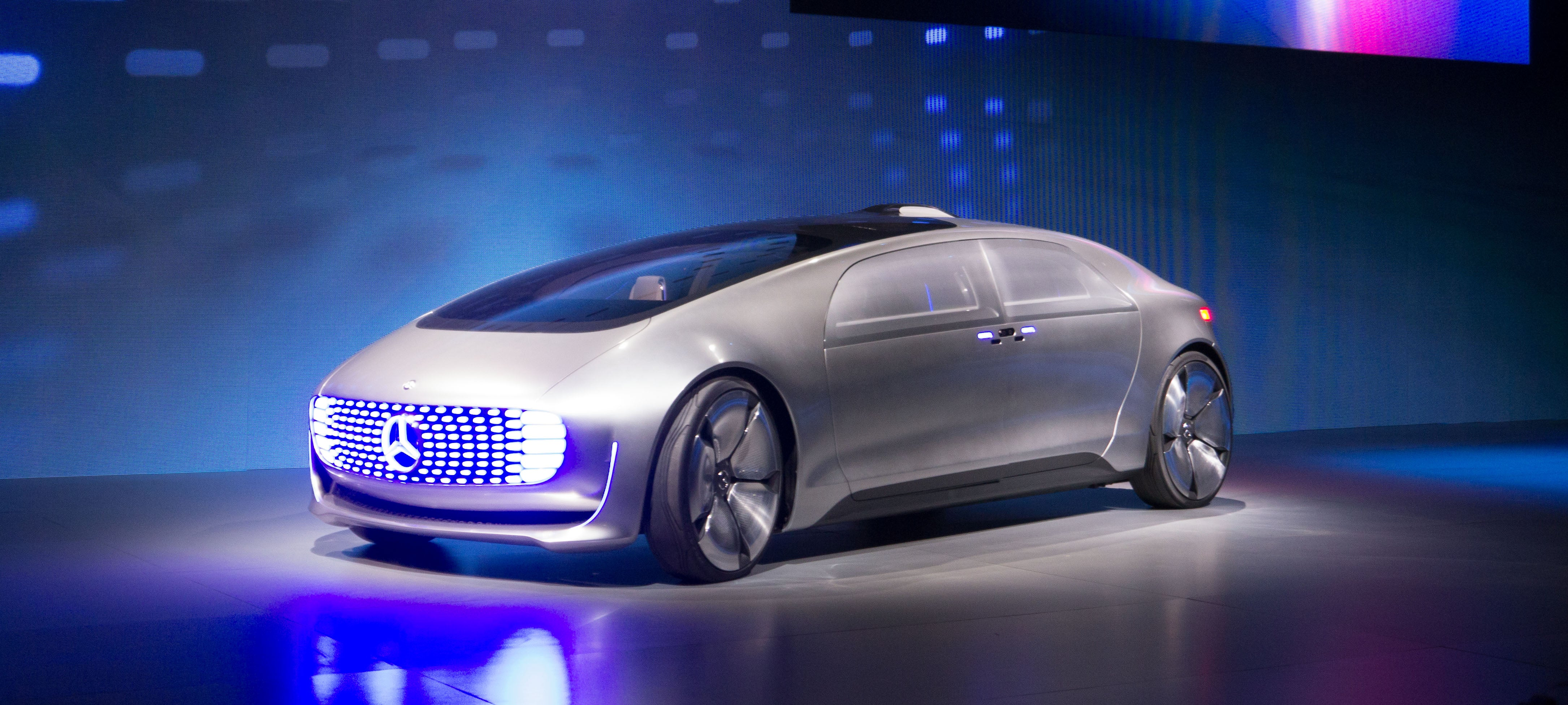 The New Mercedes Self Driving Car Concept Is Packed Full
