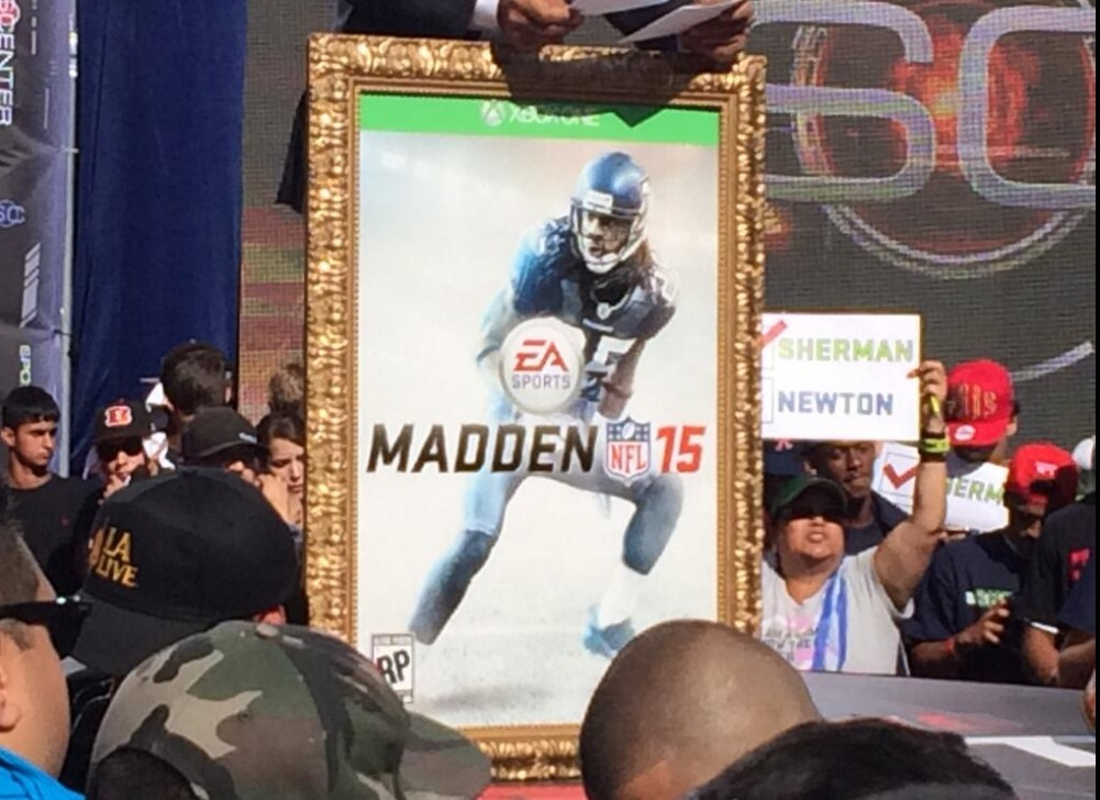 Richard Sherman Will Be On The Cover Of Madden NFL 15