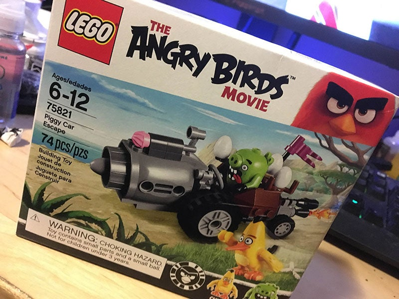 Angry Birds Makes For The Least Exciting LEGO Sets Ever