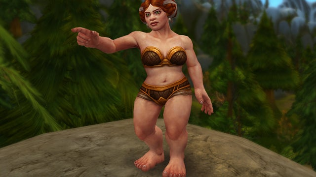 World Of Warcraft's Revamped Dwarf Female: No Beards