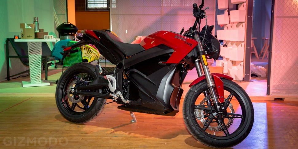 You Can Wheelie Indoors on the Electric Motorcycle of the Future
