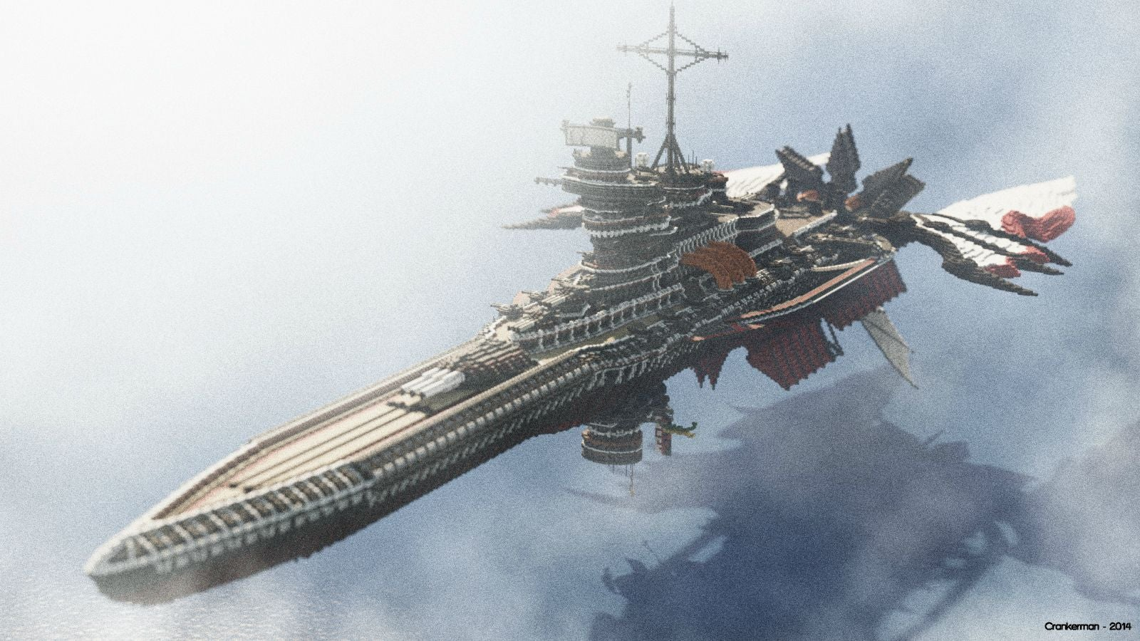 Huge Sci-Fi Battleships Are Made for Exploration