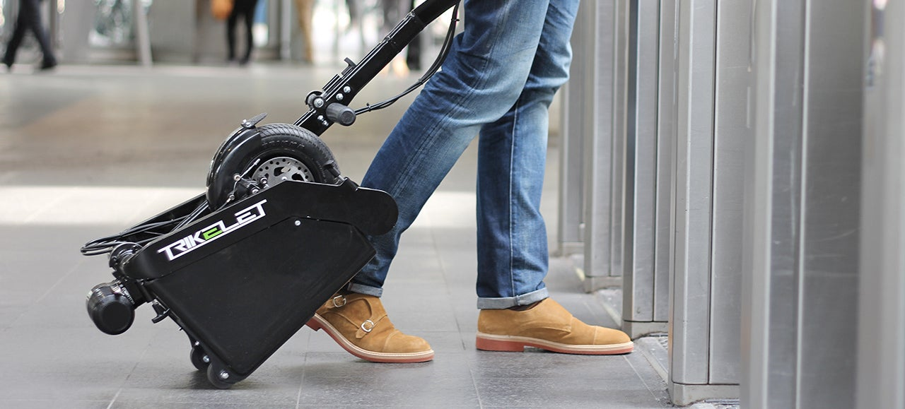 The World's Smallest Electric Vehicle Is More Compact Than a Carry-On