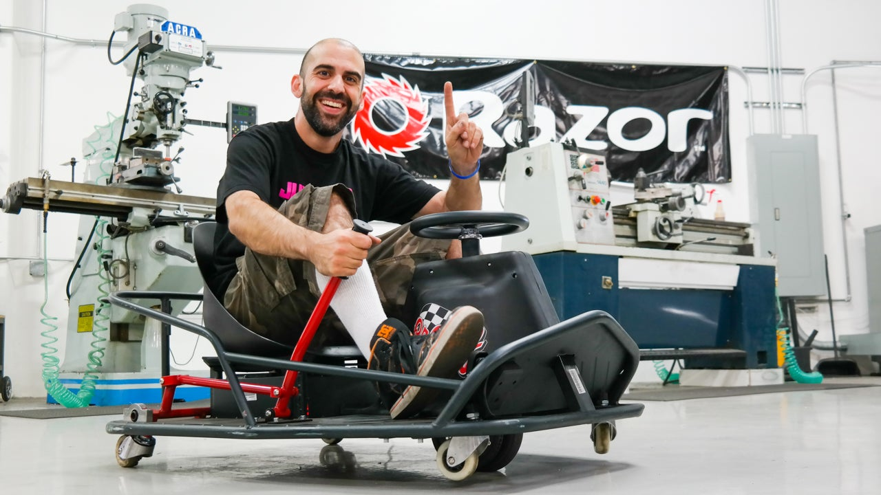 I Drifted Like Ken Block On The Adult-Sized Crazy Cart XL