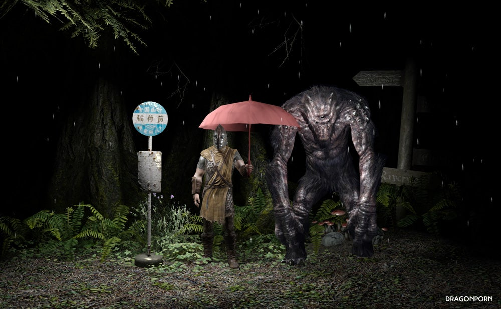 Just What Skyrim Needs: My Neighbor Totoro