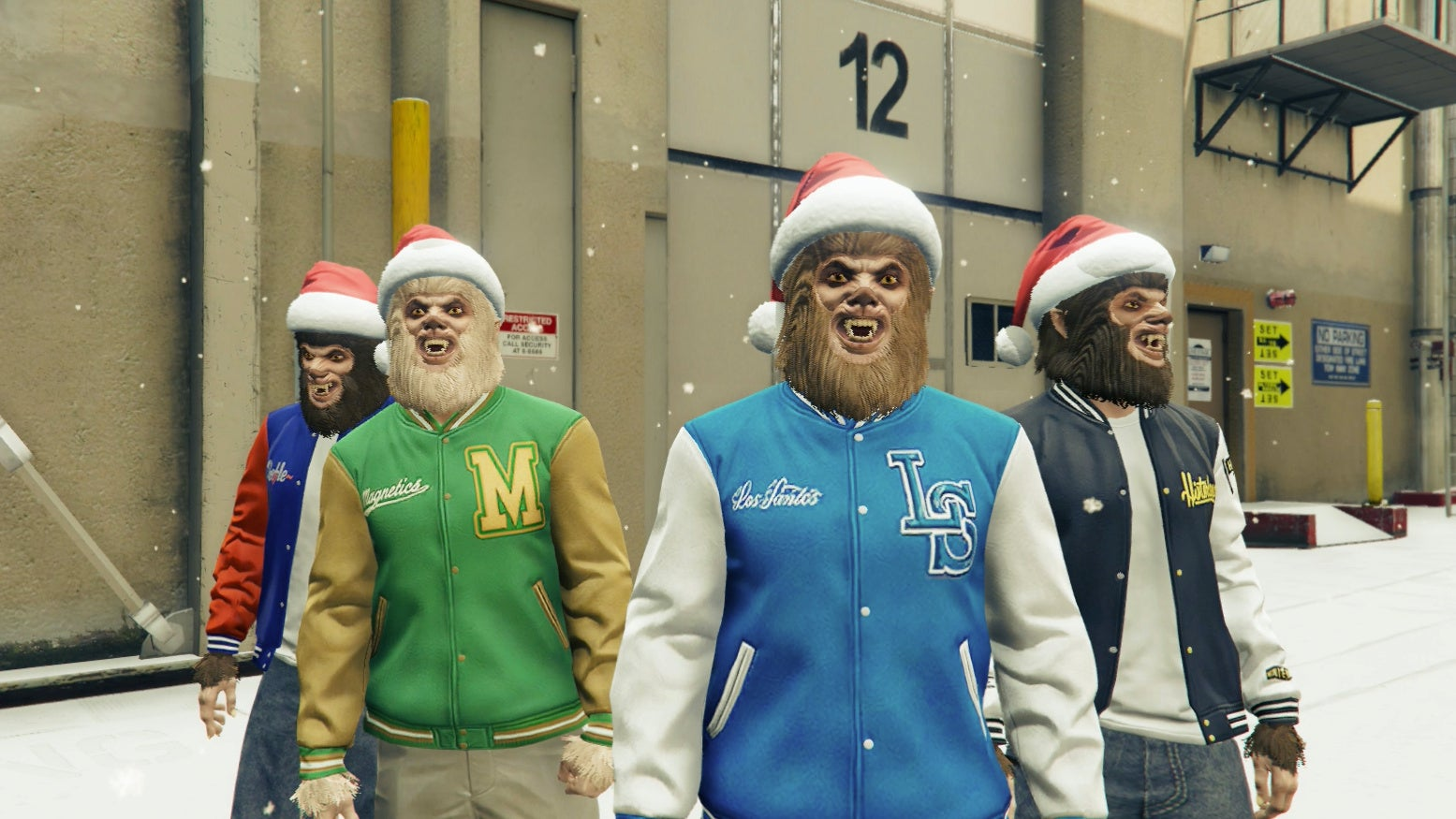 GTA Online's Coolest Christmas Present Turns Players Into Building-Hopping Monsters