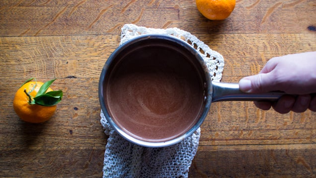 An Easy Formula For Authentic Drinking Chocolate