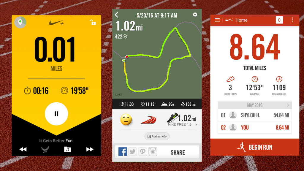 more photos 1a86a e0967 Nike+ Running (iOS Android)  Clean, Simple and Free