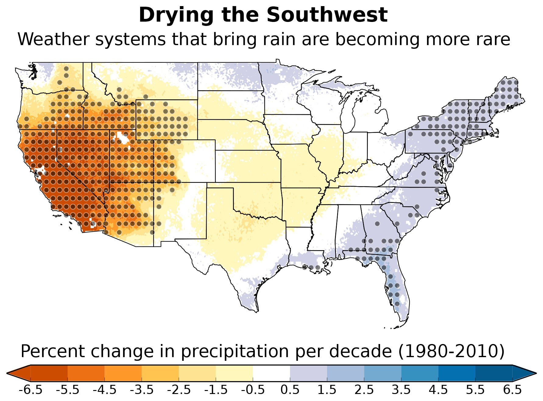 The US Southwest May Be Turning Into a 'Drier Climate State'