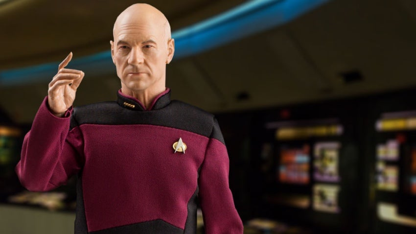 Captain Picard Collectible Figure Is Big, Bald, And Beautiful