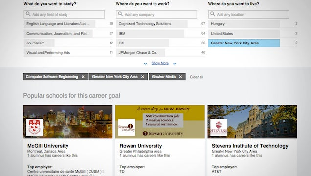 LinkedIn's New Tools Make Personalised University Suggestions To Students