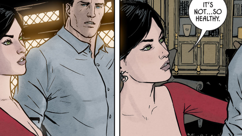 Batman And Superman Are Thinking A Lot About Dead Wives This Week