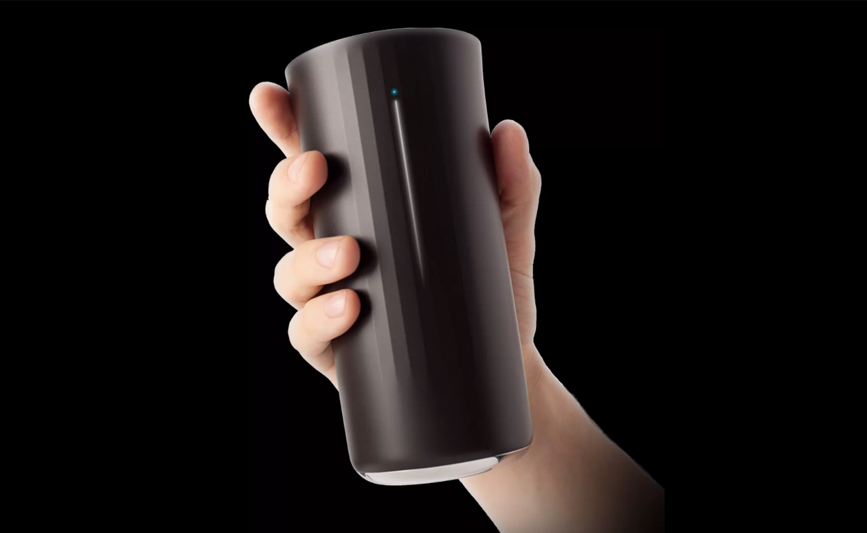 Vessyl: A Cup That Uses Molecular Sensors To Track Everything You Drink