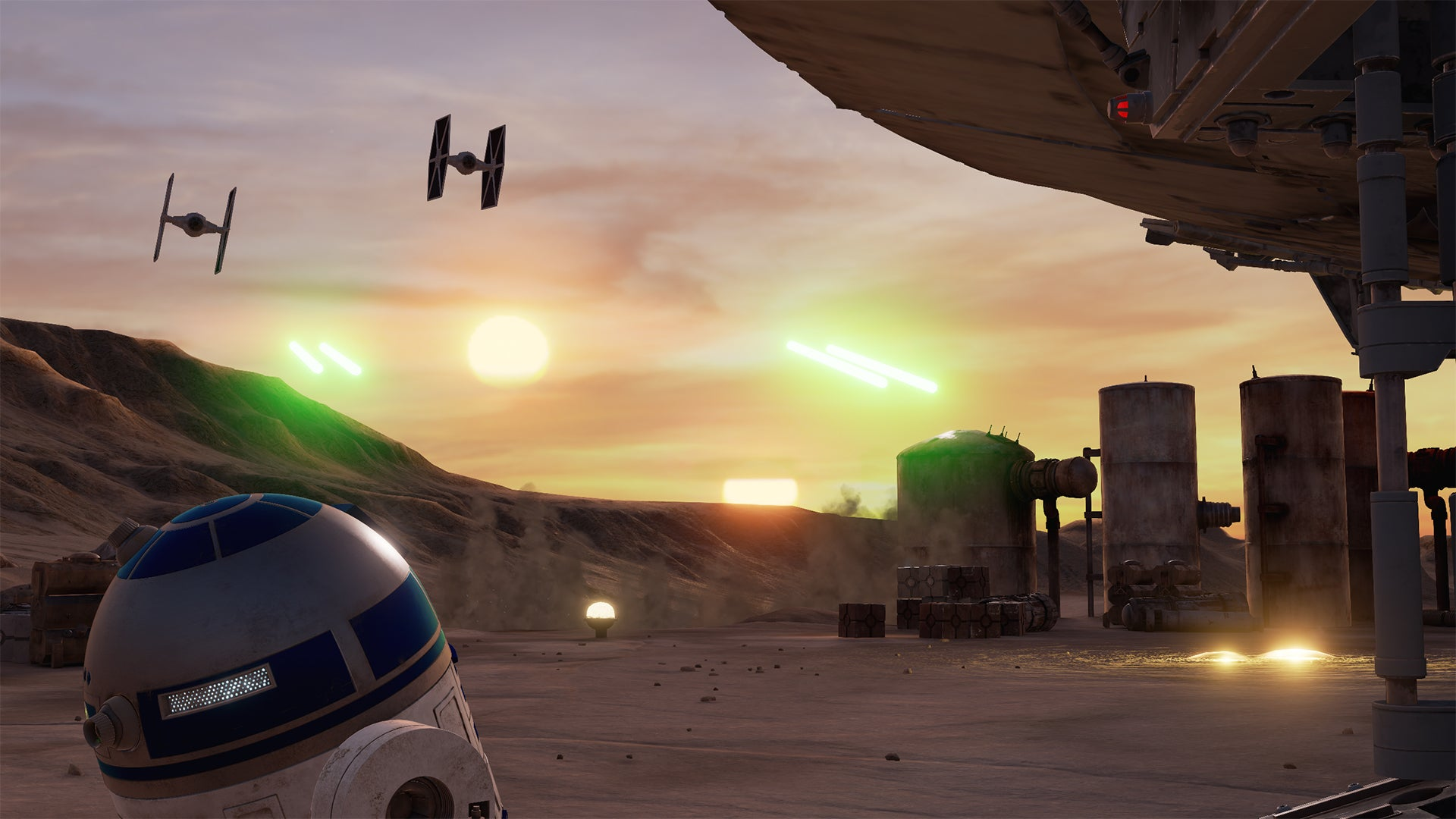 A Brand New Star Wars VR Experience Put Me on Tatooine and It Was Incredible