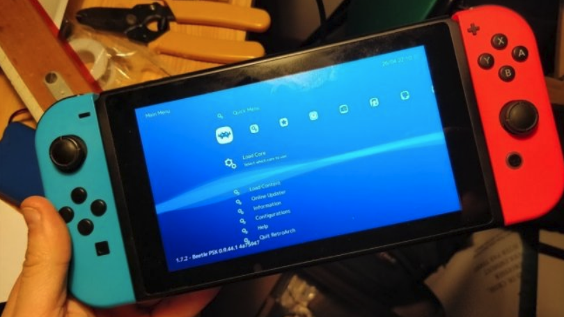Multi-Console Emulator Now Runs On Hacked Switches