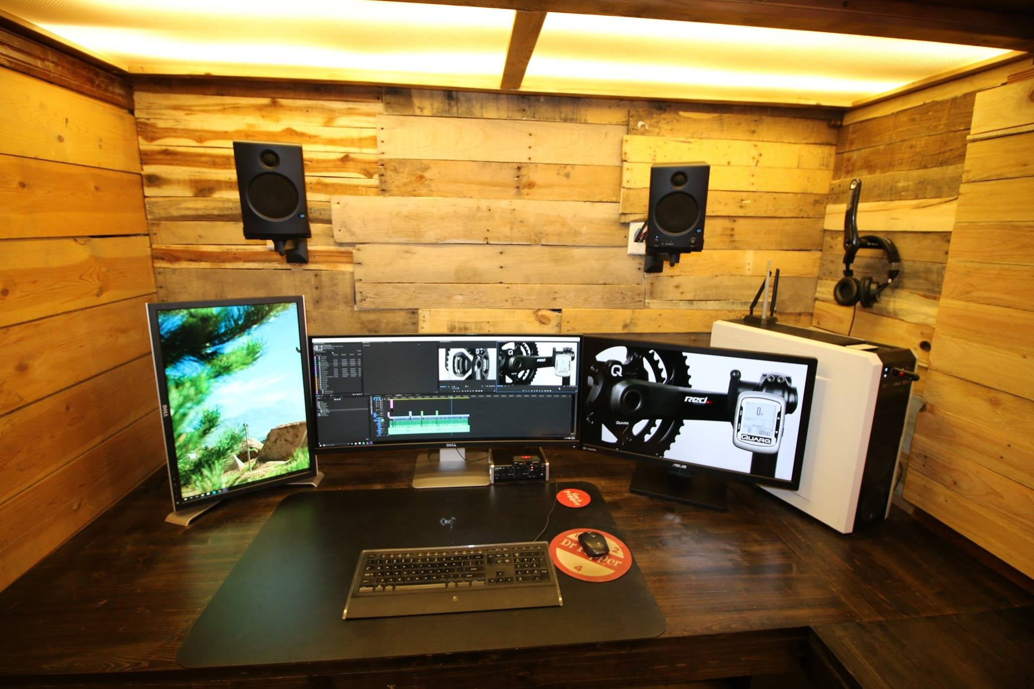 The Secret Wooden Workspace
