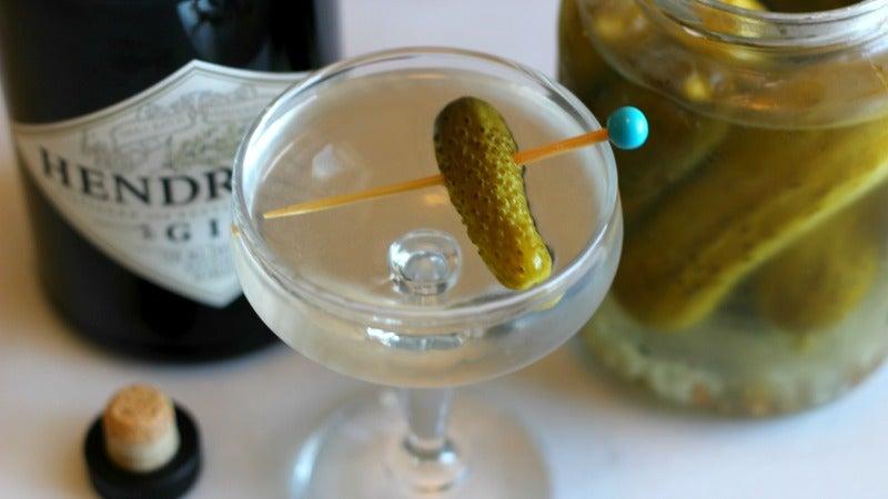 3-Ingredient Happy Hour: The Polarising Pickletini