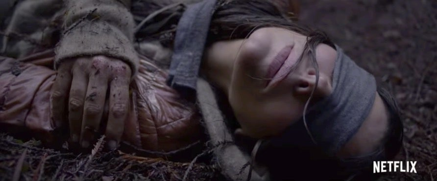 Sandra Bullock's New Horror MovieLooks Like The Quiet Place,Except For Sight Instead Of Sound