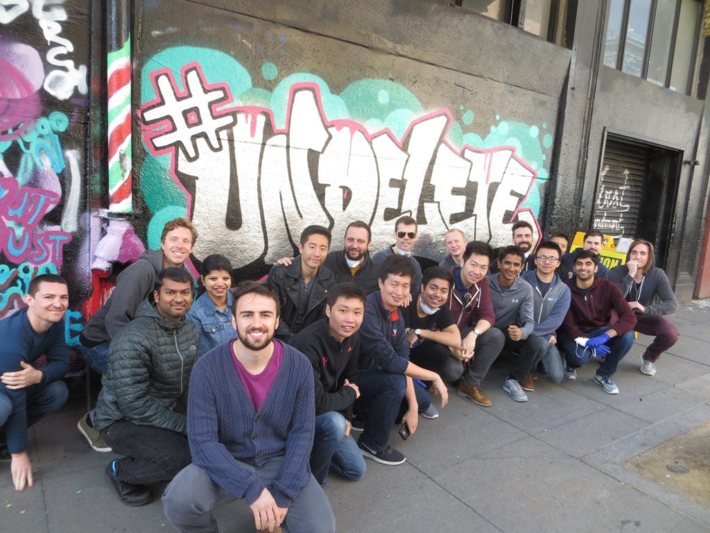 Rad As Hell Uber Employees Tag Wall With Badarse #Undelete Message