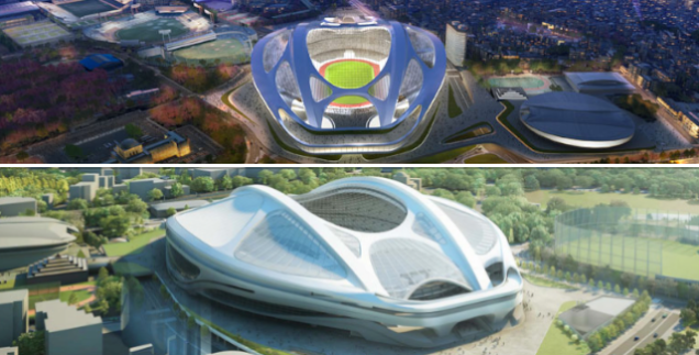 The Fight Over Tokyo's Olympic Stadium Is Getting Very, Very Ugly