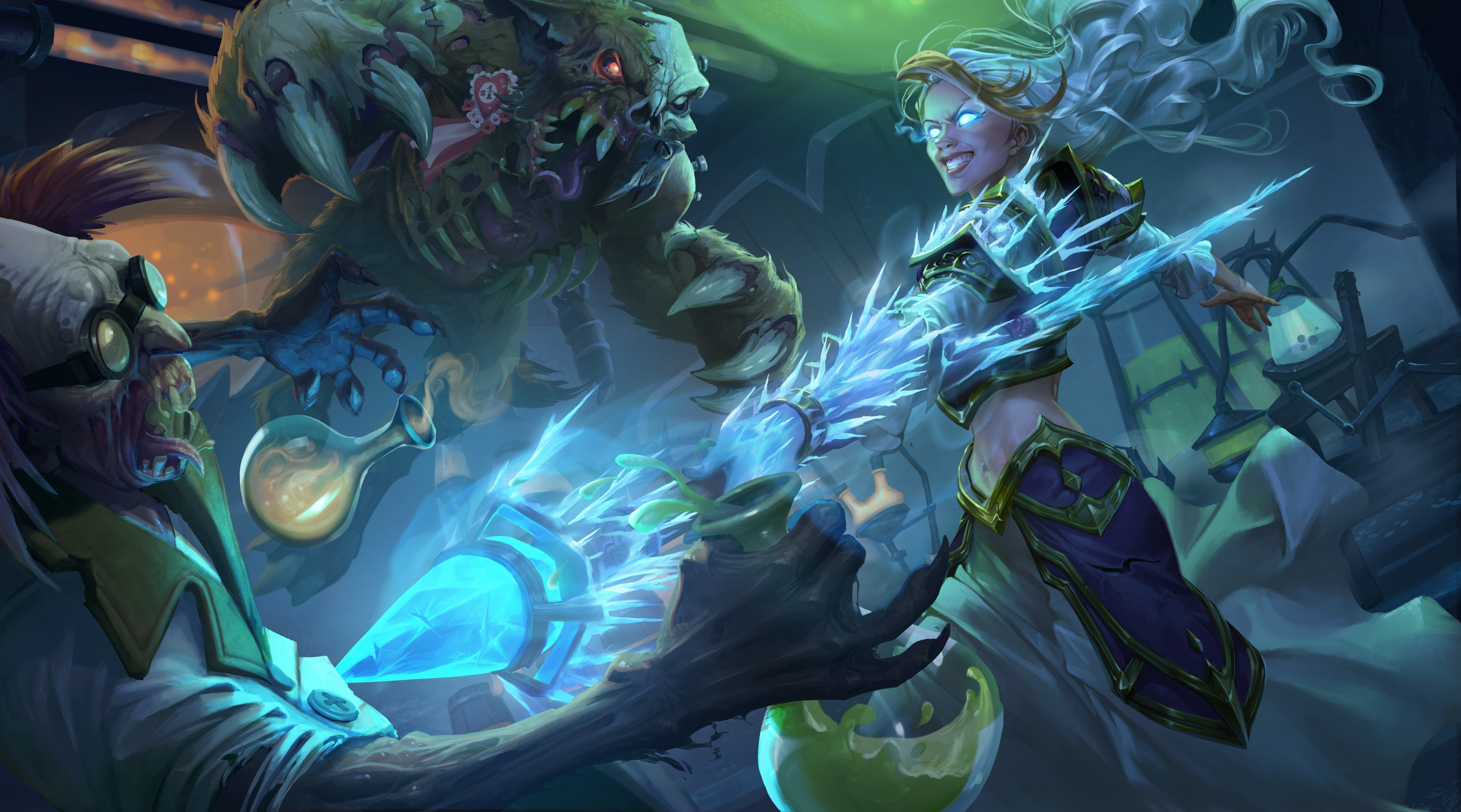 Knights Of The Frozen Throne Wallpaper: Hearthstone's New Cards Promise Some Wild Possibilities