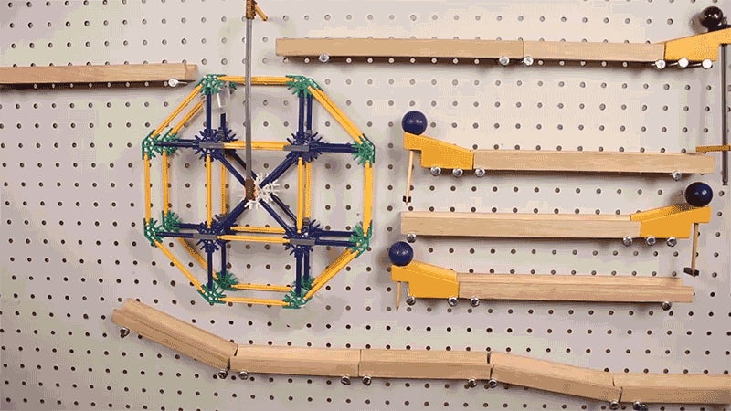 Zone Out With This Hypnotising Wall-Mounted Rube Goldberg Machine