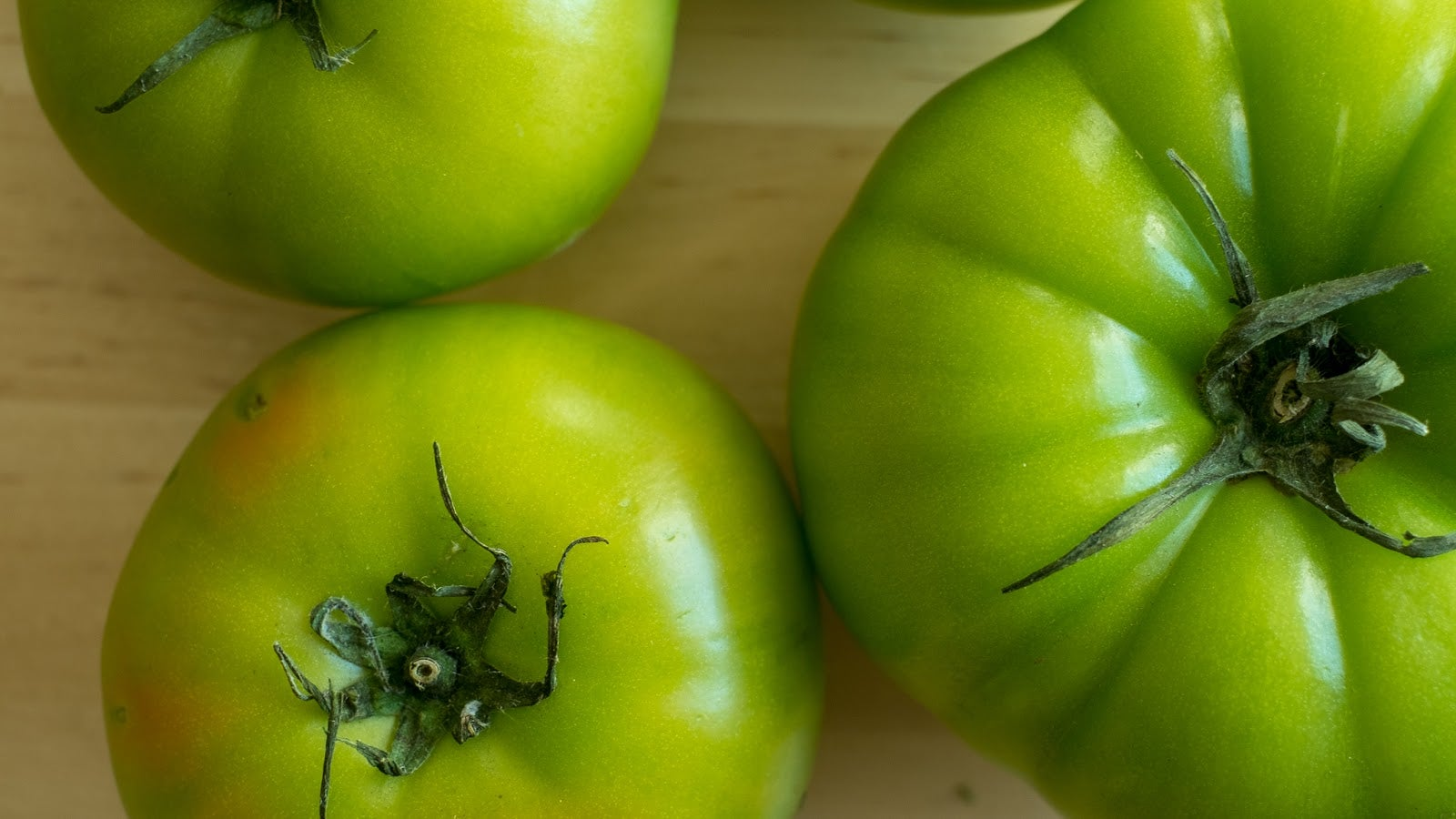 You Don't Have To Fry Green Tomatoes