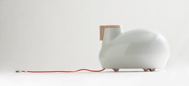 Pull This Cute Portable Heater Around The Room Like A Warm-Bodied Pet