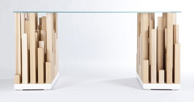 Work in the Big City From the Comfort of Home With This Skyscraper Desk