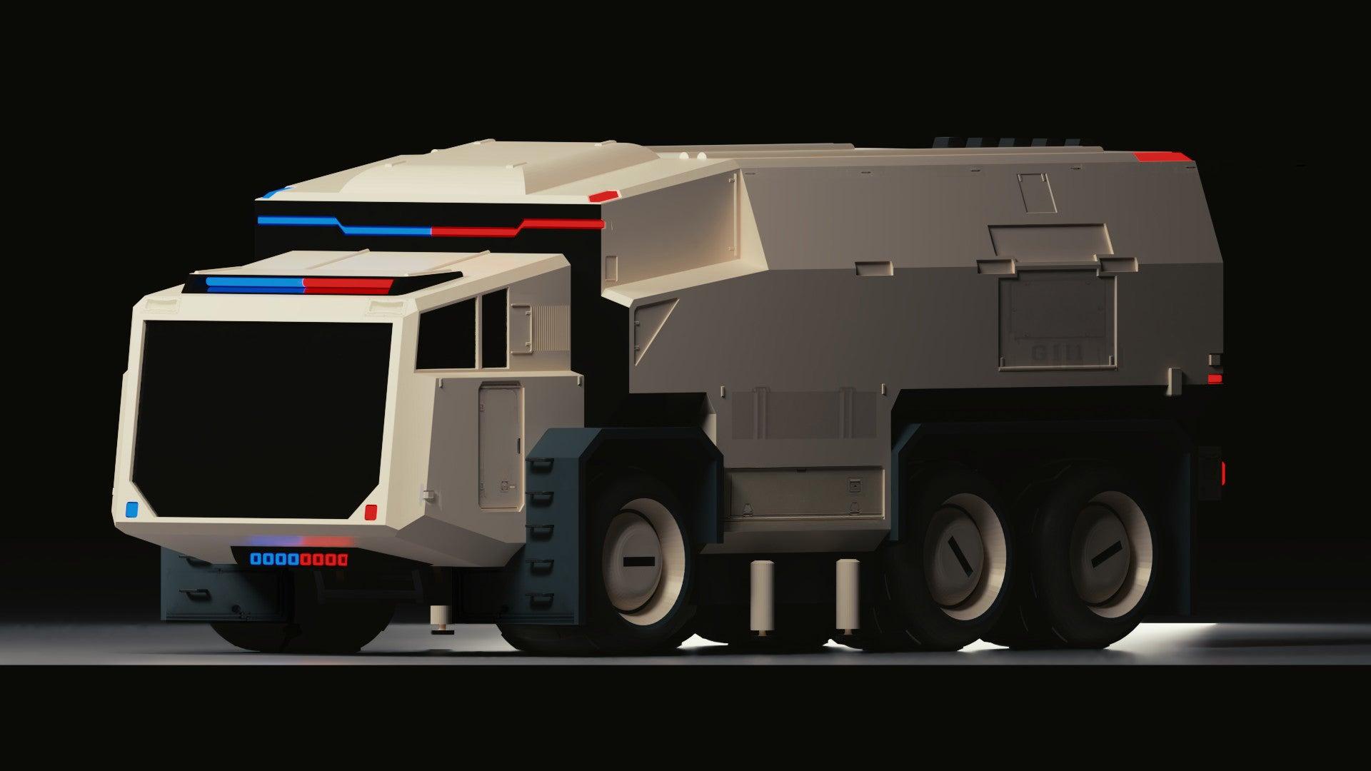 Cute Truck, Space Cops