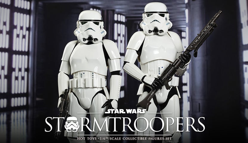 Of Course Even Hot Toys' Stormtrooper Figures Are Magnificently Detailed