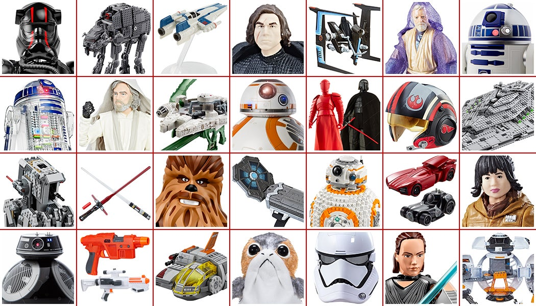 All The Glorious New Star Wars: The Last Jedi Toys Revealed For Force Friday II