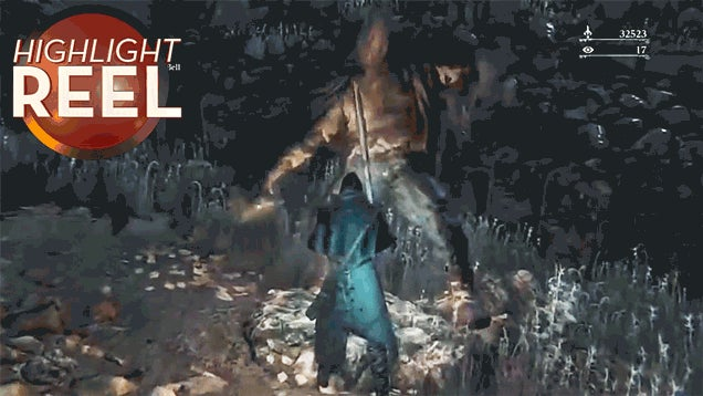 Bloodborne Monster Can't Stop Dancing